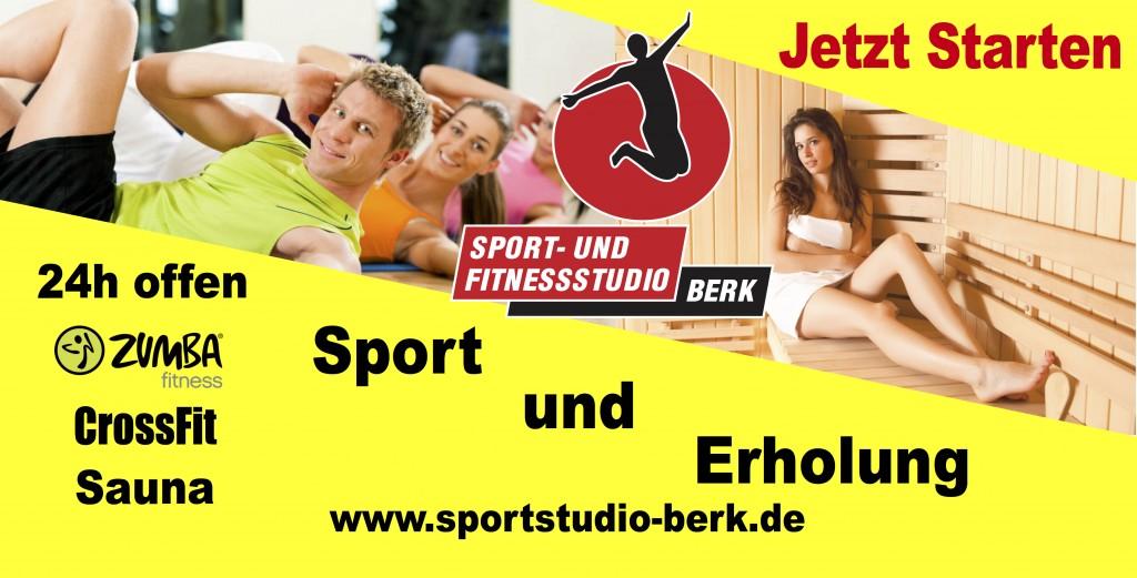 Sportstudio und Fitnessstudio Berk Fitness Sport Gesundheit funktionelles Training Tae Bo Zumba Vacha Philippsthal Merkers Geisa Frauen Senioren Sport Sauna